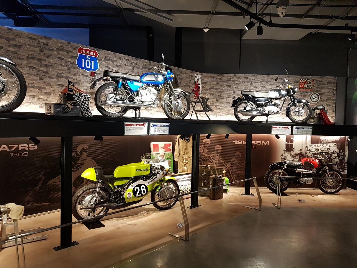 Kawasaki fabriksbesök i Japan 2017