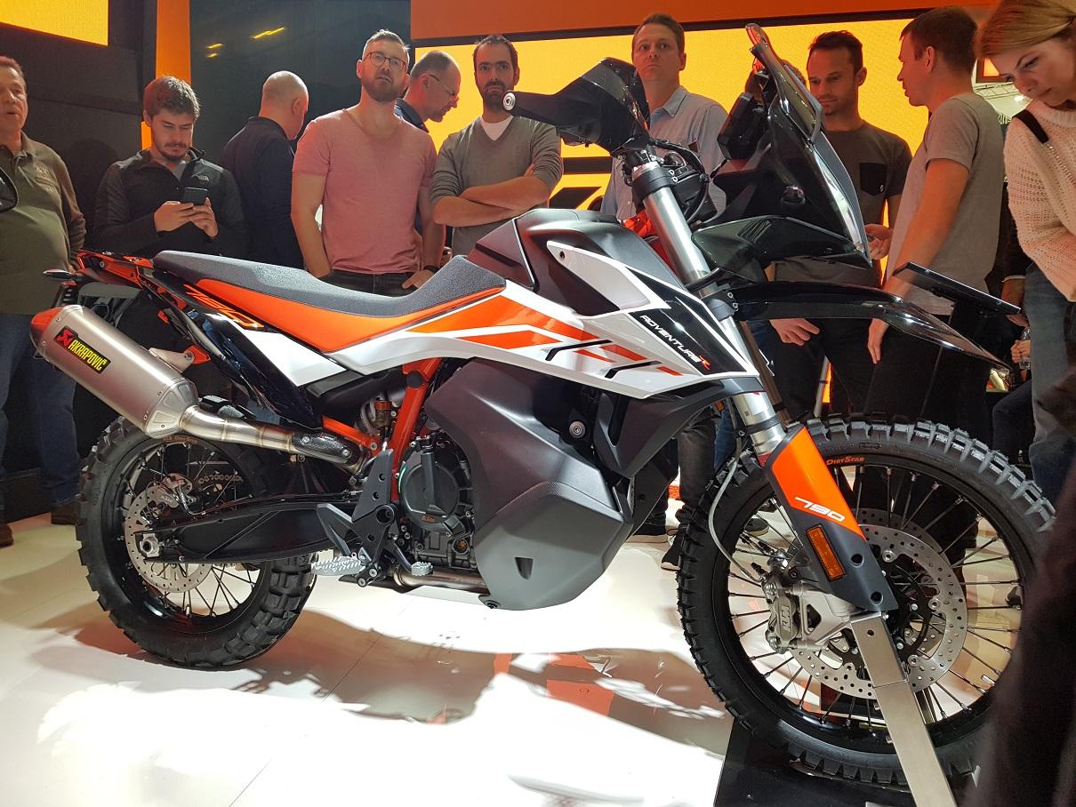 EICMA Motorcycle Show 2018 KTM Kawasaki Triumph